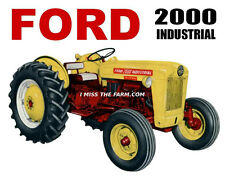 FORD 2000 INDUSTRIAL Tractor tee shirt