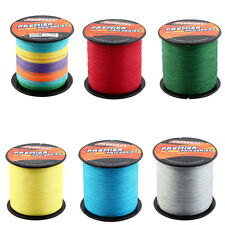 Outdoor Braided Fishing Line Wire String Spool 500m Length