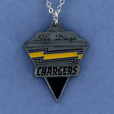 San Diego Chargers Necklace - Pewter Charm on Chain NFL Football Logo NEW