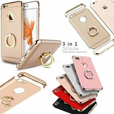 For iPhone 6 6S 7 Plus Ring Case Luxury Ultra Thin Hybrid 3 in 1 Duty Hard Cover