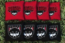 Western Oregon University WOU Wolves Replacement Cornhole Bag Set  (all-weather)