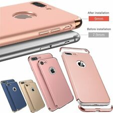Luxury Ultra Thin 3 In 1 Hybrid Slim Hard Case Cover For iPhone 6 6S 7 / 7 Plus