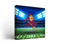 Arizona State Asu Sun Devils Canvas Wall Art Stadium Design