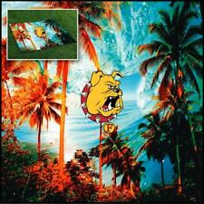 Ferris State University Bulldogs Tailgate Blanket Tropical