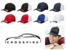 Chrysler Crossfire Coupe Classic Color Outline Design Hat Cap