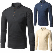 New Men's Luxury Casual Stylish Slim Fit Long Sleeve Dress Shirts Tops Hot w11