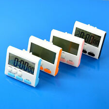 LCD Digital Large Magnetic Kitchen Cooking Timer Count-Down Up Clock Loud Alarm