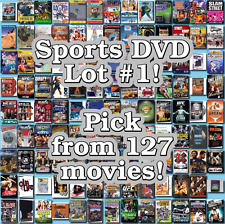 Sports DVD Lot #1: 127 Movies to Pick From! Buy Multiple And Save!