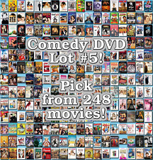 Comedy DVD Lot #5: 248 Movies to Pick From! Buy Multiple And Save!