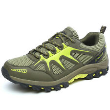 Mens Fashion Breathable Trail Hiking Shoes Non Slip Mesh Sports Outdoors Shoes