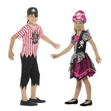 Smiffys Kids Perfect Pirate Girl Or Jolly Pirate Boy Costume Book Week Outfit