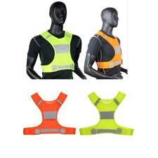 Night Work Running Jogging Bike Cycling Safety High Visibility Reflective Vest