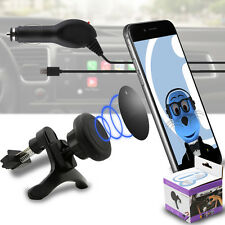 Magnetic Air Vent In Car Holder & Car Charger for Samsung Gravity Smart