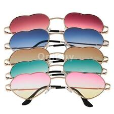 Gorgeous Full Wrap Heart Rim Frame Sunglasses Glasses Gradient Lens Eyewear