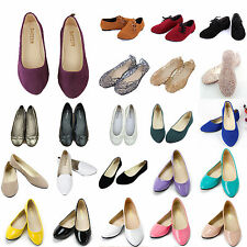 Women Palin Flats Slip On Shoes Dolly Pump Ballet Casual Comfort Shoes Loafer