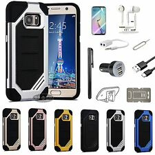 Case Cover Car Charger Earphones Headset Accessory For Samsung Galaxy Phone