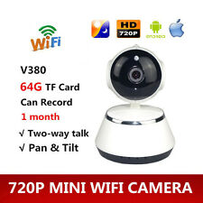 V380 Wifi HD Wireless Network IP Home Security Surveillance Camera Night Vision