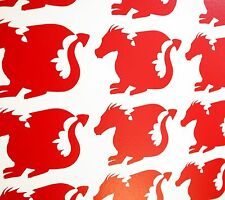 Dragon Wall Art Vinyl Decals/Stickers - various colours and sizes