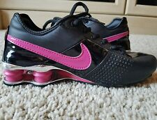 Nike Shox Classic Women's size 8 or Youth size 6.5y  Black/Pink GUC!!