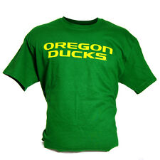 Oregon Ducks NCAA Medium Logo T-Shirt (Green)