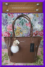 TIGNANELLO NEW Original Tote Saddle Caramel 100% Leather Shopper Tote Handbag