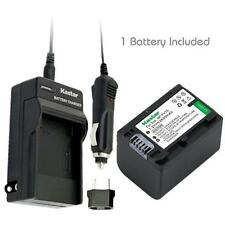 NP-FV70 Battery & Normal Charger for Sony NEX-VG10 VG30 VG30H VG900, DEV-50