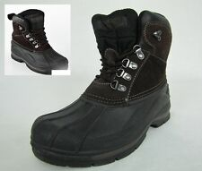 Totes mens boots Glacier Waterproof winter brown size 8 NEW