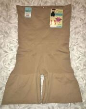 LOVE YOUR ASSETS SPANX Nude Remarkable Results Hi Waist Mid Thigh Shap Womens 2X