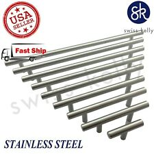25 Pack Kitchen Hardware Solid Stainless Steel Bar Pull Cabinet Handle Knob
