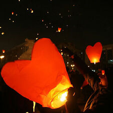 1/5/10pcs Sky Fly Paper Chinese Lanterns Candle Wishing Lamp Light Wedding Party