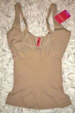SPANX Shape My Day Open Bust Nude Cami Super Control Top NEW Womens Sz S M L