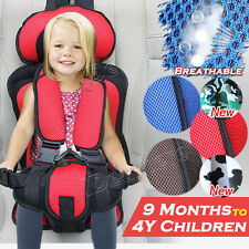 1x Useful Portable Safety Baby Car Seat Toddler Infant Convertible Booster Chair