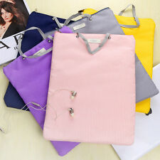 A4 Tote Hand Bag Briefcase Document Holder Organizer File Laptop Notebook Bag w3