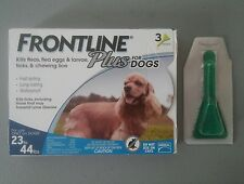 4 MONTH SUPPLY ~ FRONTLINE PLUS for DOGS 23 - 44 lbs - EPA Approved - BRAND NEW