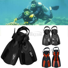 Trainning Dive Fins Flippers Full Foot Shoes Scuba Diving Swimming Snorkeling