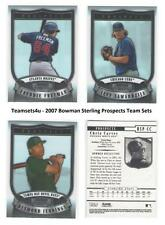 2007 Bowman Sterling Prospects Baseball Set  ** Pick your Team **