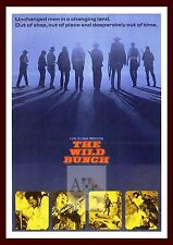 The Wild Bunch   Iconic & Cool Movie Poster Vintage & Classic Film