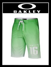 OAKLEY RIO GREEN FADE BOARDSHORTS SWIM TRUNK SUMMER BEACH SURF (NEW) MSRP $74.95