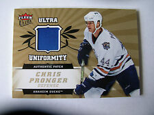 06-07, FLEER ULTRA UNIFORMITY AUTHENTIC PATCH,CHRIS PRONGER, CARD UP-CP, 25/25,