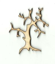 Bare Tree - Unfinished Laser Cut Out Wood Shape Craft Supply FAL150