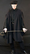 Victorian/Edwardian/ Mens/Unisex SCHOOL MASTER-TEACHERS GOWN WITH HAT- All Sizes