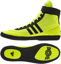 Adidas Combat Speed 4 Solar Yellow Wrestling or Boxing Shoes -Size 10.5