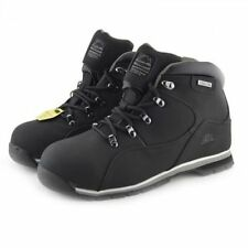 MENS SAFETY WORK BOOTS GROUNDWORK STEEL TOE CAP HIKING LACE-UP ANTI-SLIP GR66