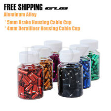 100pcs 4 / 5mm Bicycle Brake Shifter Derailleur Inner Cable Wire End Cap Crimps