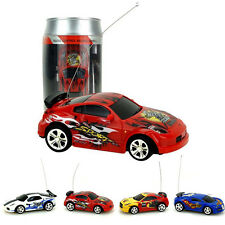 UK New Coke Can Mini Speed RC Radio Remote Control Micro Racing Car Toy Gift
