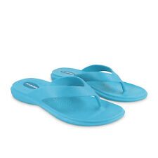 Okabashi Women's Maui Cushioned Recyclable Flip-Flops, Turquoise, New-All Sizes