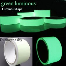 Green Glow in the dark Tape Sheet Sticker Film Luminous Adhesive Strip PET Craft