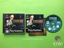 Tomb Raider III PS1 Playstation 1 PS2 PS3 PAL Game + Free UK Delivery