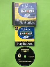 World Championship Snooker Playstation 1 PS1 PAL Game + Works On PS2 & PS3