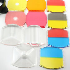 LOMO HOLGA camera Color lens Filters SET with double Filter Holder